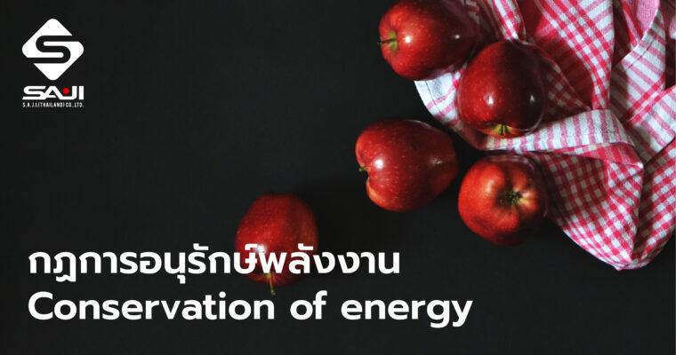 กฏการอนุรักษ์พลังงาน